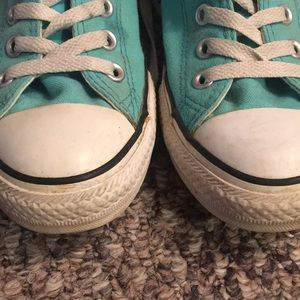 Converse Shoes - TEAL CONVERSE!! 🖤🖤